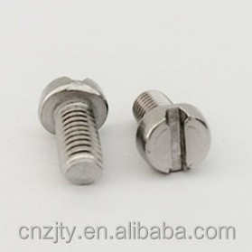 Cheese slotted head stainless steel machine screws self tapping screws
