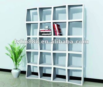 Home wood furniture wooden bookcase for living room book shelf and office bookcase