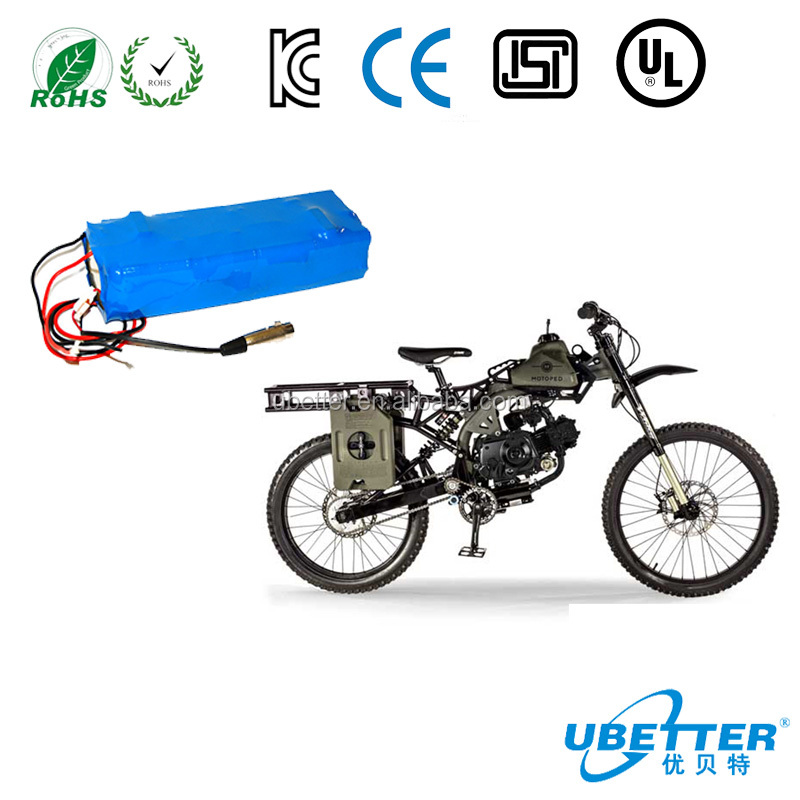 lithium batteries 72V 60Ah lifepo4 battery pack for electrical scooter