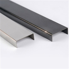 201 304 316 stainless steel u channel bar u steel profile for construction materials