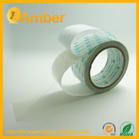 Excellent in bonding plastic materials removable double sided tape