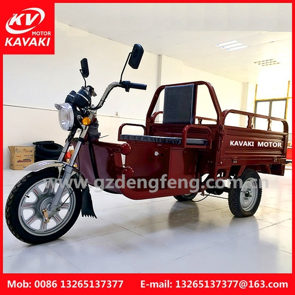 New Model Economic Electric Cargo Three wheel motorcycle
