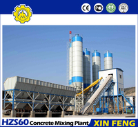 Achieving the Concrete Production At a Faster Rate HZS60 Skip-type Concrete Batching Plant