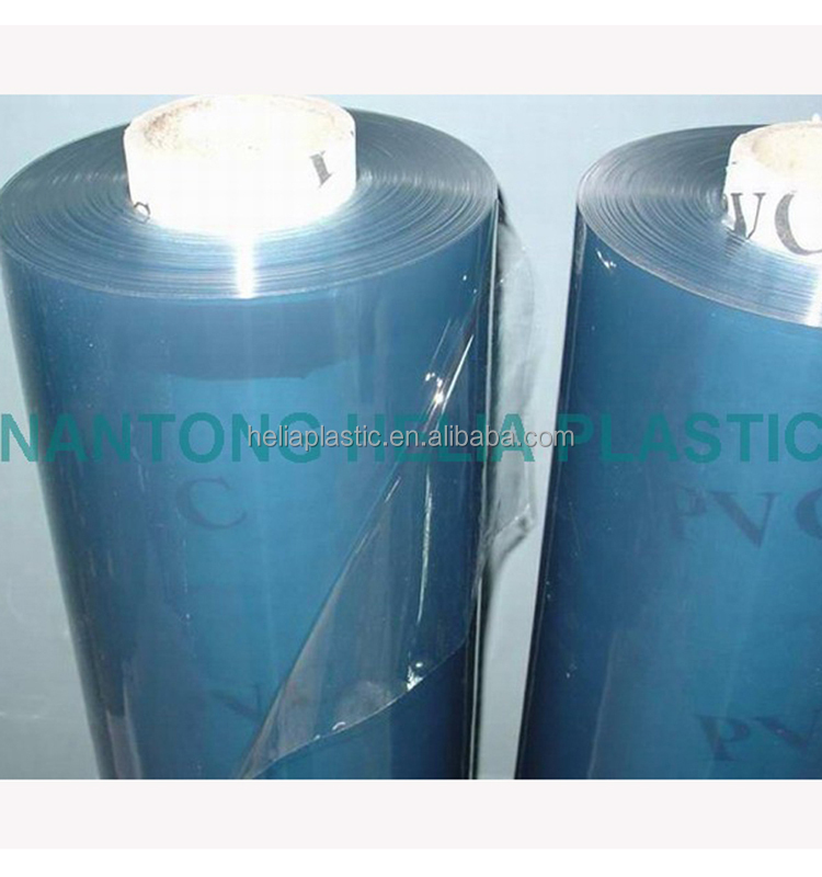 PVC Super Clear Film of Transparent vinyl plastic sheet 1 mm thick with roll