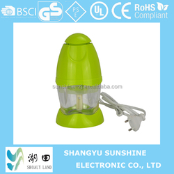 Mini electric food chopper/blender/mixer