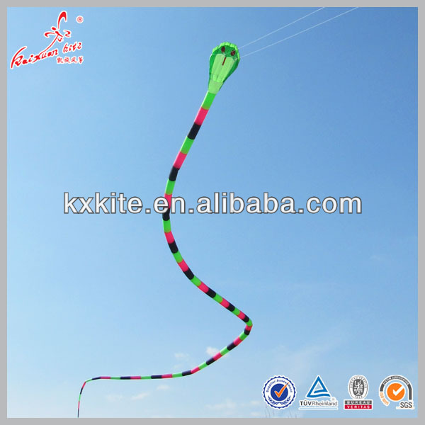 40m dual line large inflatable snake kite for sale