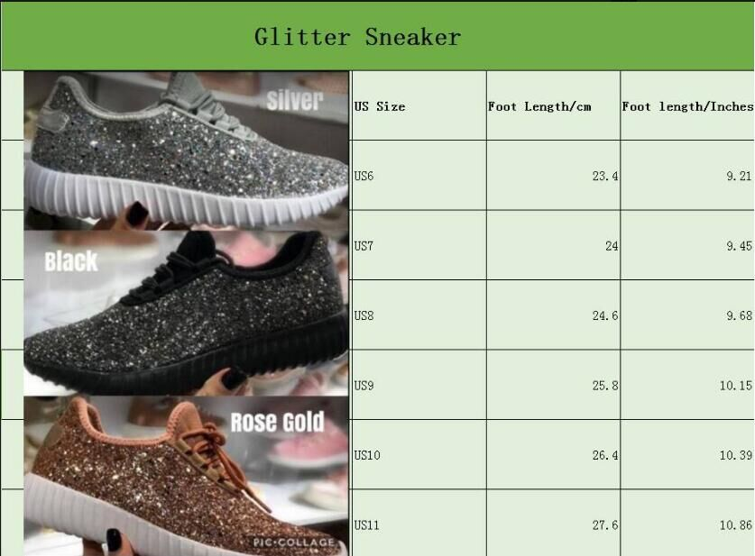 Wholesale Monogrammed glitter tennis shoes