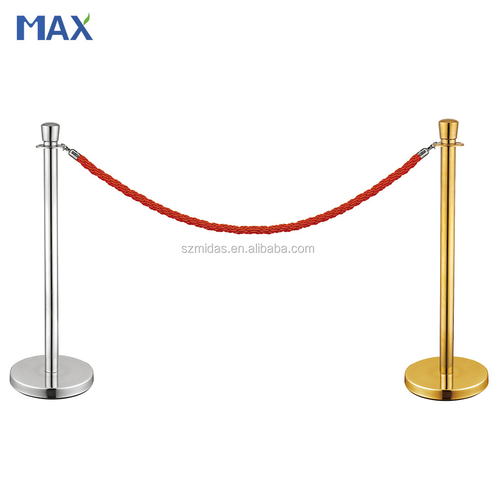 rope queue way barrier stand in line