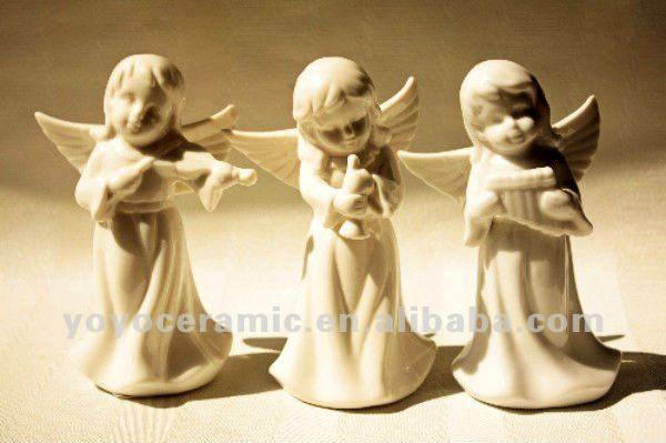 ceramic angel wedding decoration fairy figurines