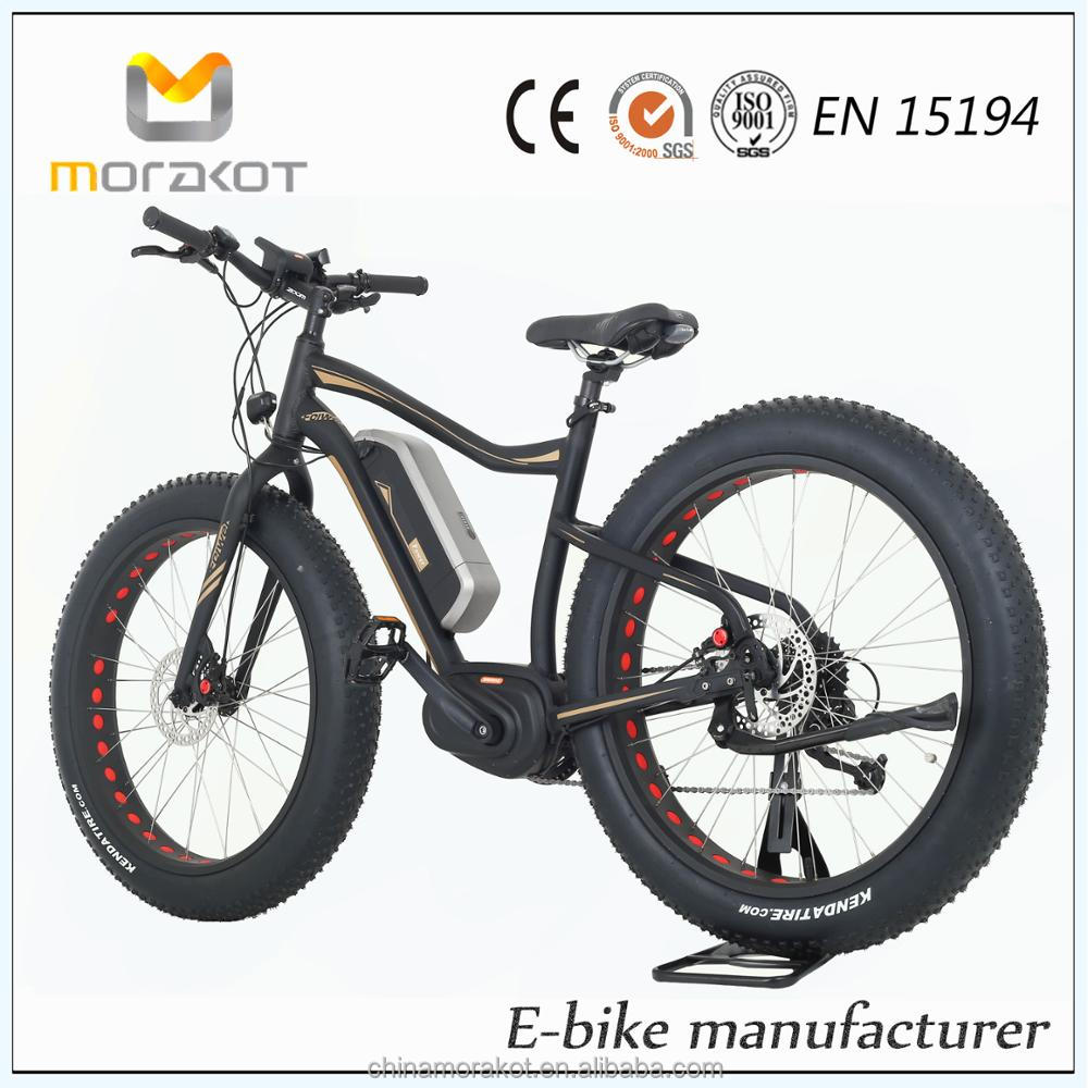 Bafang Max Mid Drive System Trail Electric Bike /Electric Fat Bicycle Bike Mountain