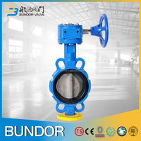 Quick Install Machine Worm Gear Operated Hypalon Seat Butterfly Valve DWG