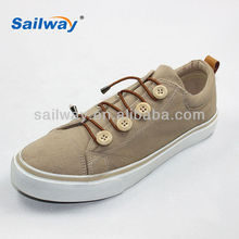 Wholesale China Women Buckle Strap Canvas Shoes
