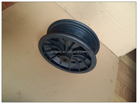 Wheelbarrow spoke 10 inch plastic rim