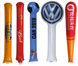 Custom Printing Ballon Thunder Bang Stick Inflatable Sticks Thundersticks Cheering Stick