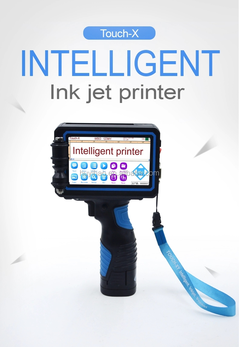 2019 Fabriek Handheld Vervaldatum Inkjet Codering Printer