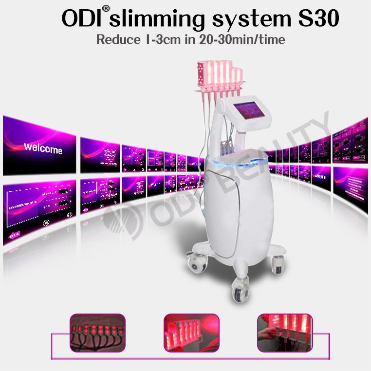 (CE-Approval) 100mw bio curve beauty and health Lipo laser slimming machine (OD-S30)