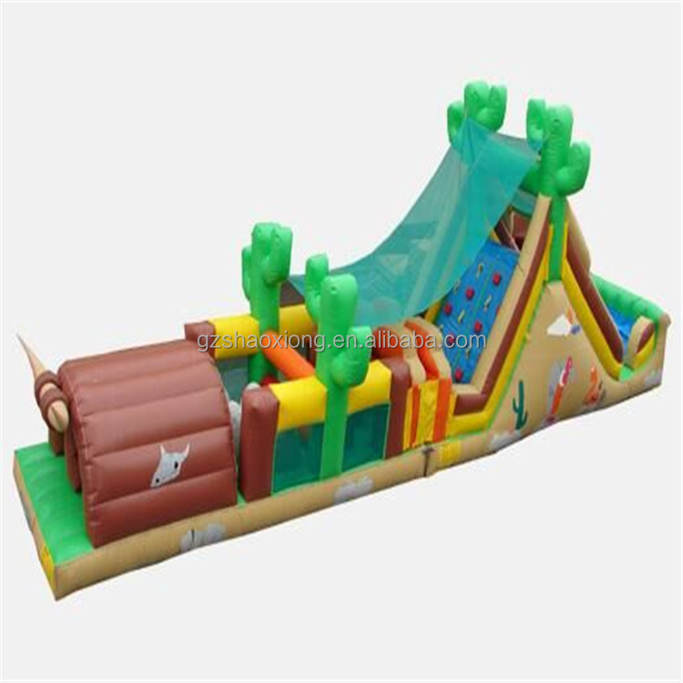 Commercial inflatable Water pool obstacle course games Used Lake and ocean