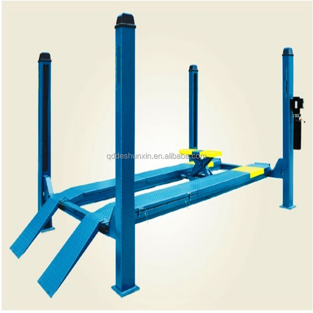 Newly portable and stable hydraulic car lift with CE or portable car hoist used 4 post car lift for sale