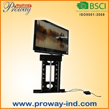 CE approved 32 to 55 inches 360 Degree Swivel Electric Motorized TV Lift