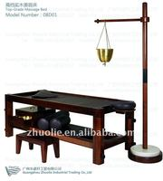 Shirodhara bed with shirodhara stand and shirodhara pot