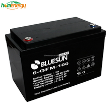 BLUESUN 12V 100ah rechargeable battery storage batteries for solar system