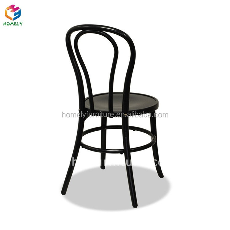 Best Quality Wholesale Factory Directly Manufacturing Powder Coating Steel Iron Metal Classic Cheap Thonet Chairs Dining Chair