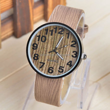 Manufacture Fashion Cheap Women Customized Girls wood Silicone Watches