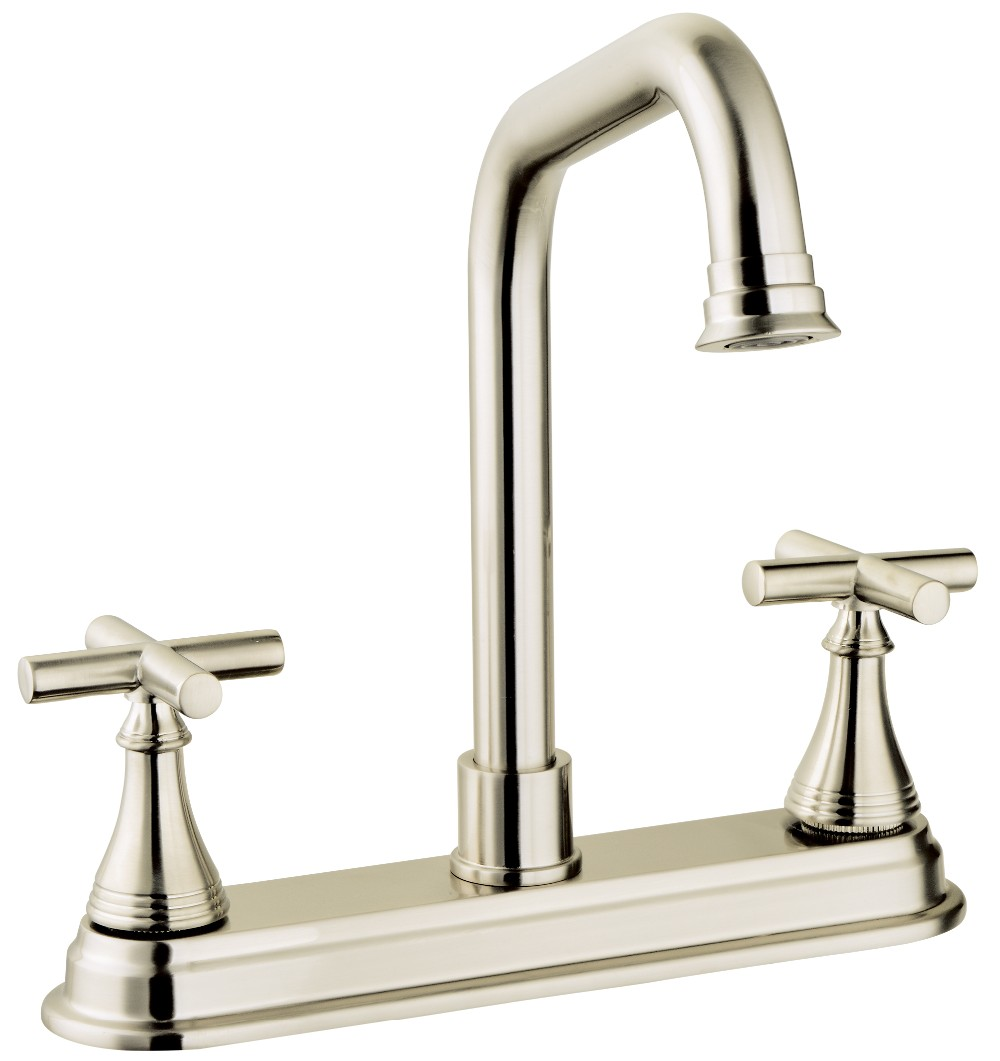 Two Handle Kitchen Faucet CP/BN/ORB Finishing