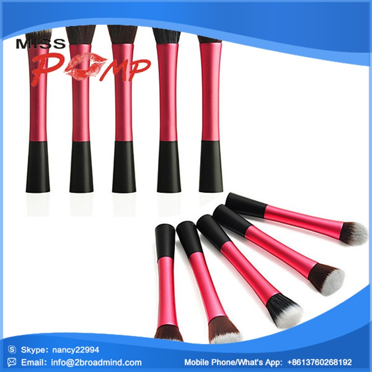 LX1118 2015 High Quality Wholesale Fashion Natural Hair Professional Makeup Brush Set , Air Brush Makeup Kit , Makeup brush