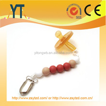 2016 Teresa Silicone Chewable Baby Teething Bead Necklace for Moms