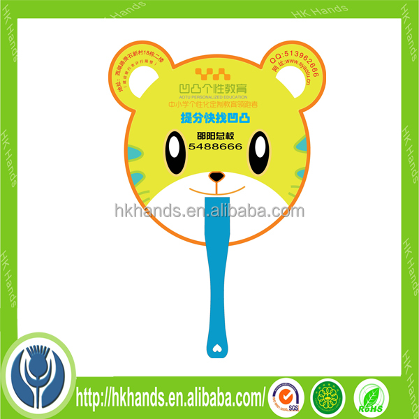 Trade Assurance Wholesale Different Shape Personalized Promotional Campaign Hand Fans