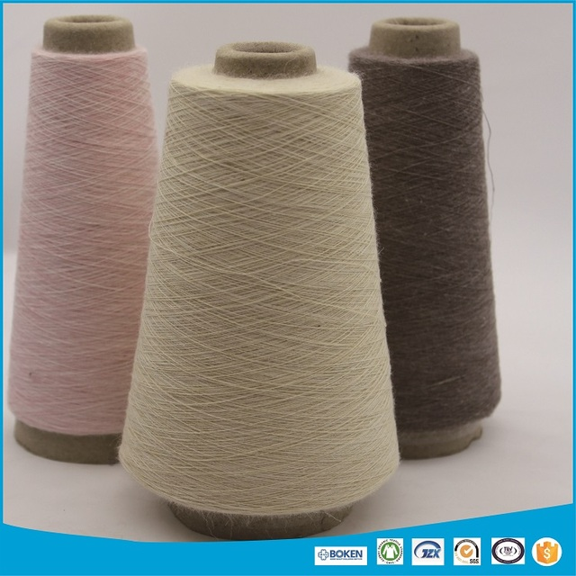 linen viscose blended dyed yarn