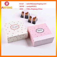 wholesale customized fashion box for cupcake