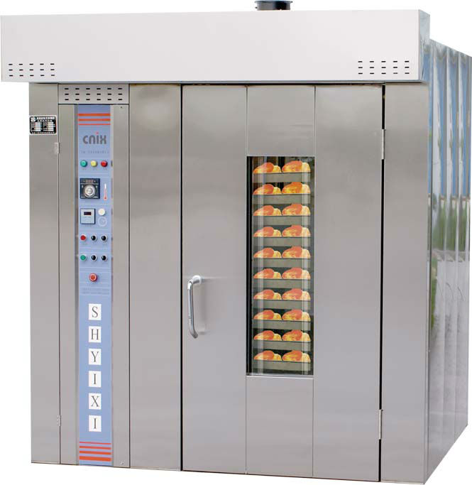 rotary rack oven bakery gas and electric(CE&ISO,Manufacturer)