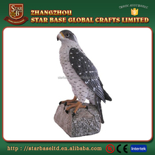 China wholesale vivid animal 3d crafts custom cheap resin bird figurine