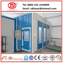 high quality automotive paint supplies/car spray booth price/car painting equipment