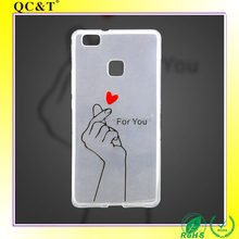 QC&T free sample cell phones Guangzhou Wholesale Cell Phone Accessory,blank phone cases for uv printing for p9 lite