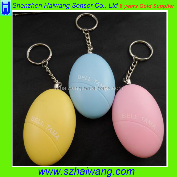 Guardian Anti-theft pull pin personal <strong>alarm</strong> with keyring, welcome custom logo
