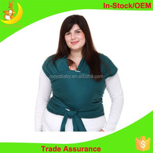 Organic cotton material baby wrap high quality cotton baby carrier
