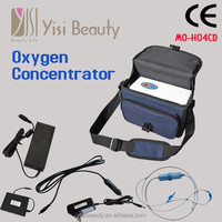 Hot sale portable mini home use oxygen concentrator price battery operated oxygen making machine for sale with CE