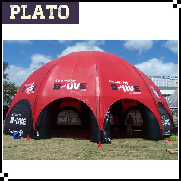 Inflatable Advertising Bacardi-BL Pavilion, Air blown Canopy for Events