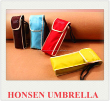 Honsen LED light Skull handle auto fold umbrella