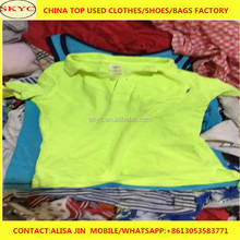 high quality used clothing imported from Dongguan second hand clothes factrory