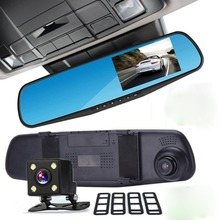 Car Accessories Rearview Mirror Manual Car Camera HD DVR Dash Cams for Sale
