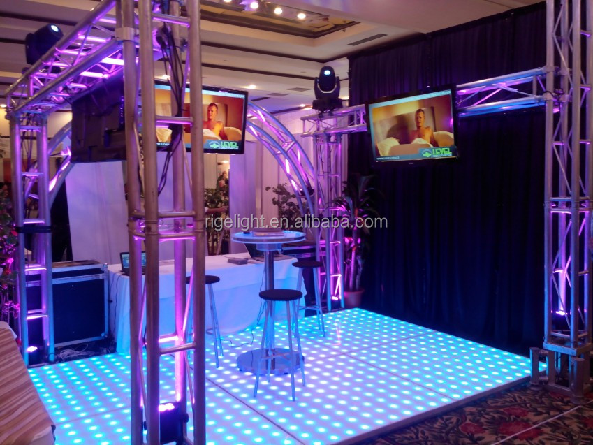 Newest bestm1220*1220mm Led Digital Dance Floors/Led Dance Floor Tiles