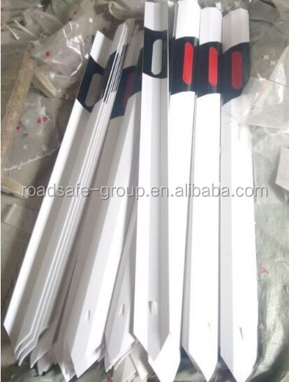 Flexible PVC delineator road delineator post