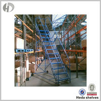 Lowest Price Customizable Industrial Platform Step Ladder