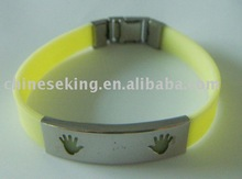 Stainless Steel Wristband,Rubber Wristband,Silicon Wristband,
