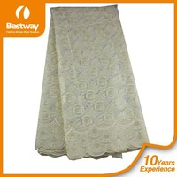 Beautiful Design Brocade Swiss Lace Wholesalers,Hand Cut Swiss Lace Fabric SL0308