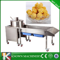 Professional cheap price offer Automatic football shaped popcorn maker 220V
